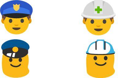 Android 7.0 Emojis