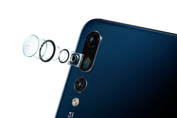 triple camera feature