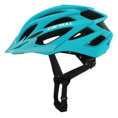 Professional Bicycle Helmet MTB Mountain Road Bike Safety Riding Helmet Glacier blue_M/L (55-61CM)