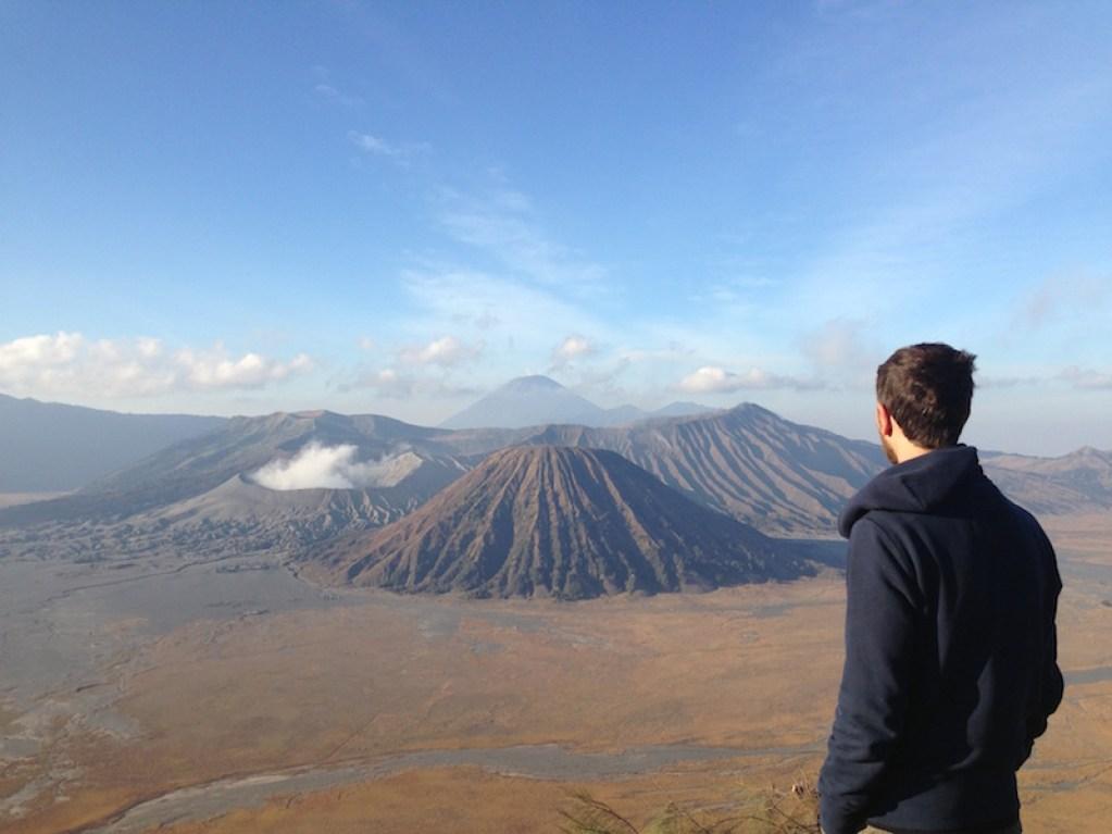 Chineurs du monde au Volcan Bromo, Java, Indonésie