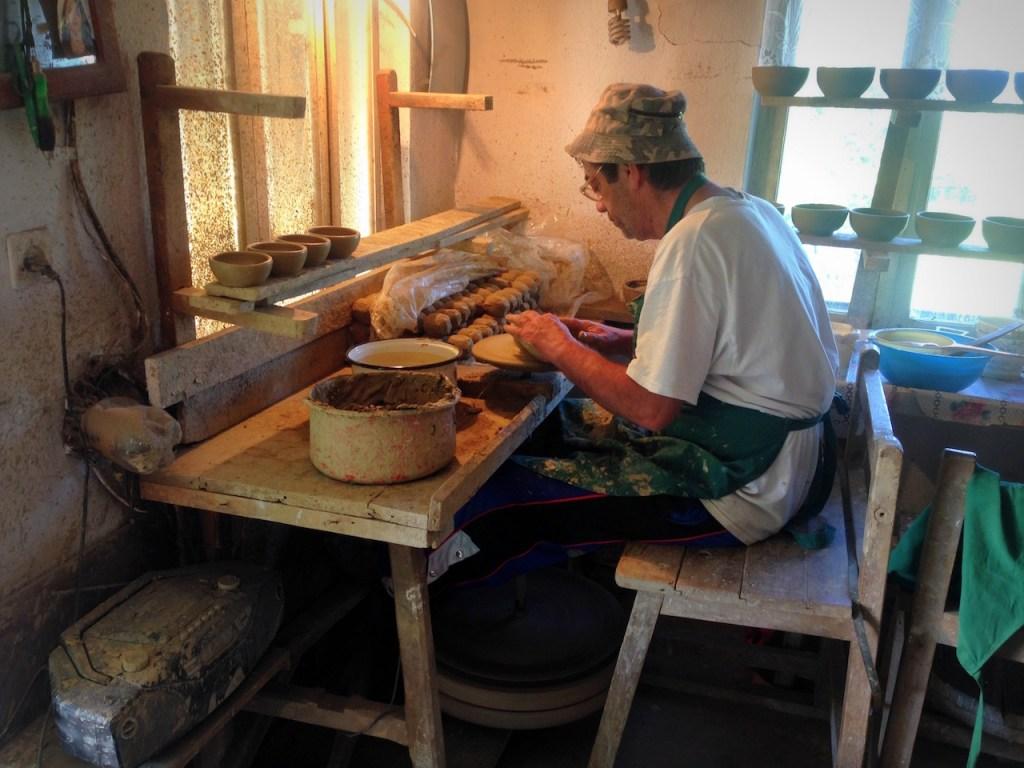Fabrication d'une céramique de Horezu