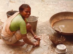 Maya at work