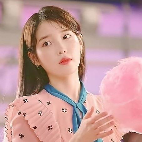 iu with candies