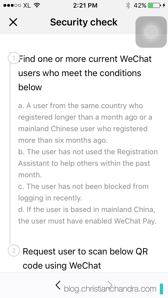 Cara Daftar Wechat : daftar, wechat, Updated!], Solusi, Gagal, Daftar, WeChat, Terkendala, Security, Check, Christian, Chandra, Notes