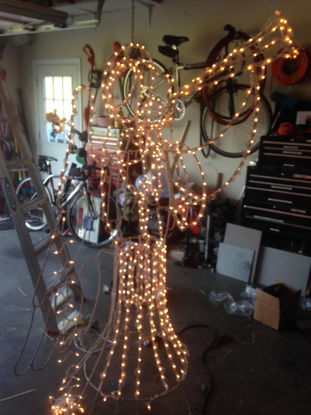 Repairing Christmas Lights