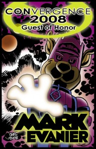 CVG 2008 GOH Badge - Mark Evanier