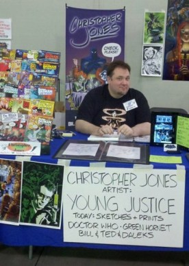 Chris at Springcon May 2011