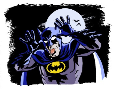 Batman w Tongue for Hal - color