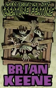 Brian Keene CONvergence Badge
