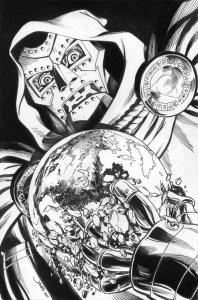 Doctor Doom pin-up