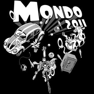 Mondo 2011 T-shirt