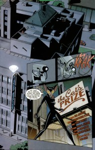 Batman Strikes #6 Title Page