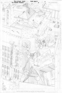Batman Strikes #6 - Title Page