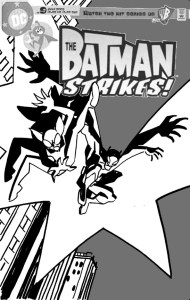 Batman Strikes #13 - cover sketch b