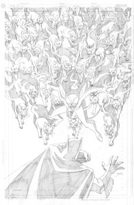 Batman Strikes #13 - cover pencils
