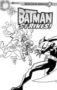 Batman Strikes #28 Cover sketch a
