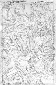 YJ #8 cover pencils