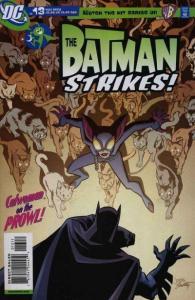 Batman Strikes #13 - cover w logos