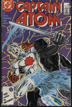 Captain Atom #7 cover