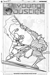 YJ #10 cover sketch c
