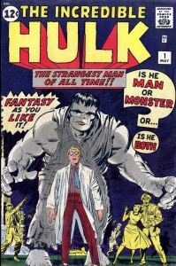 Incredible Hulk #1 cover