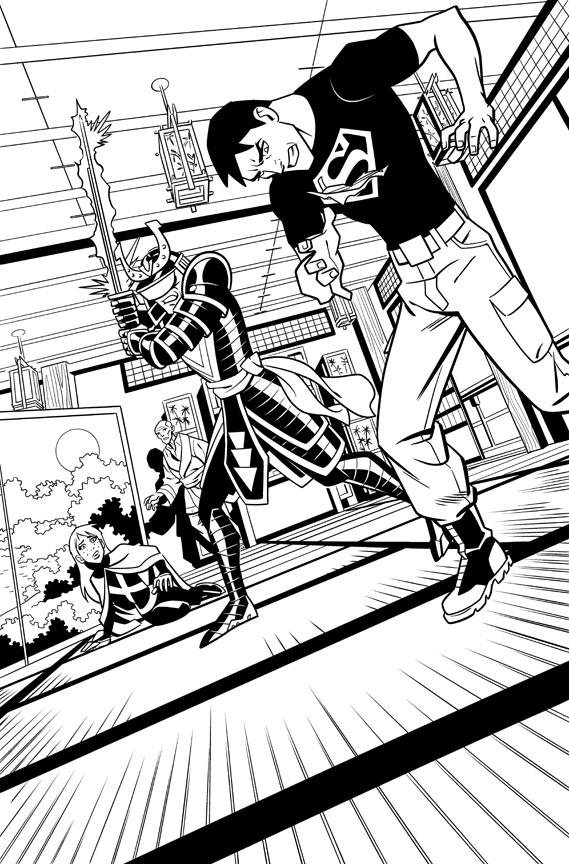 Christopher Jones Comic Art and Illustration Blog » Commentary