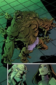 Clayface in Shorts