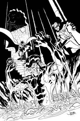 Young Justice #11 - Cover Inks