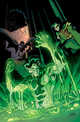 Young Justice #11 - Cover Color