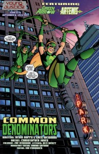 Green Arrow & Artemis
