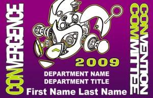 #CVG2009 - ConCom Badge