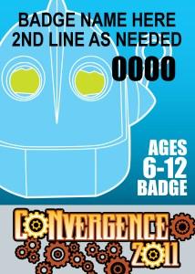 #CVG2011 - 6-12 Badge