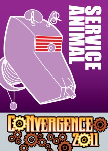 #CVG2011 - Service Animal Badge