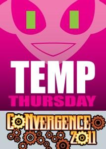 #CVG2011 - Temp Thurs