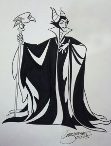 Sketch Maleficent