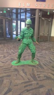 CCE13 FRI - Green Army Guy