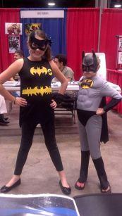 CCE13 SUN - Batgirl & Batman