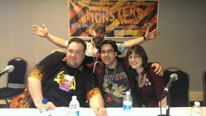 Me with Monster Mike, Troy Little & Brenda Hickey