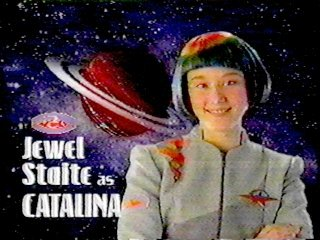 12-year-old Jewel Staite in Space Cases