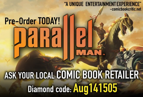 Pre-order Parallel Man Today with Diamond code Aug141505