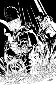 Young Justice #11 Cover Inks prev