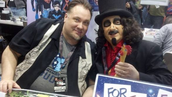 Svengoolie and me at C2E2 2014