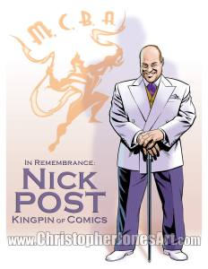 Nick Post as Kingpin of Comics