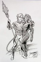 Sketch - Aquaman & Mera