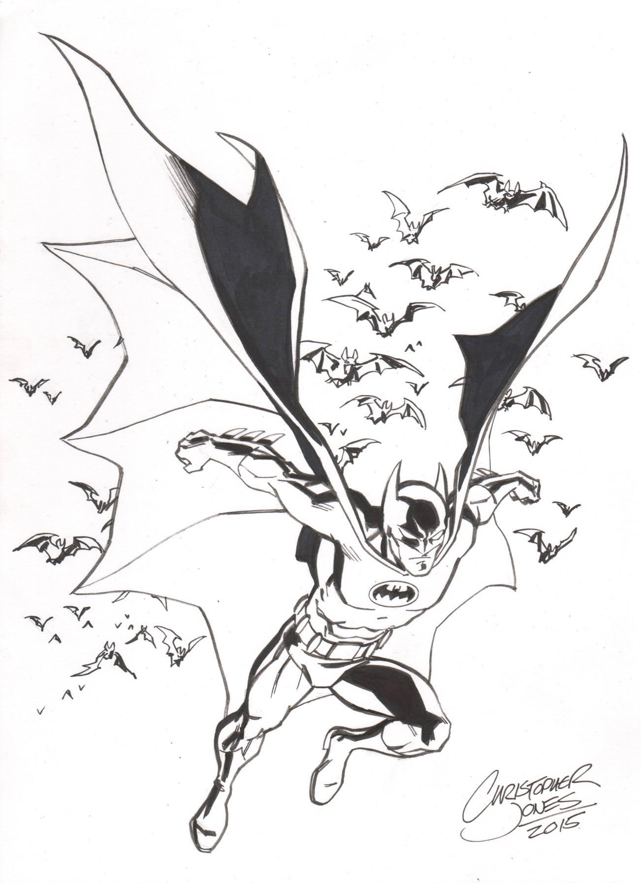 character sketch of batman