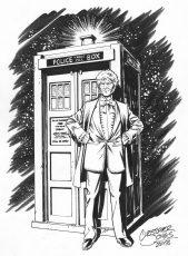 2 Character - Third Doctor & Tardis
