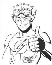 Headshot - Kid Flash