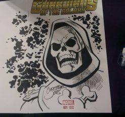 Sketch Cover - Skeletor