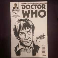 Sketch Cover - Troughton Headshot