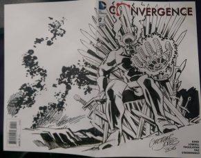 Sketch Cover - Wrap Darkseid